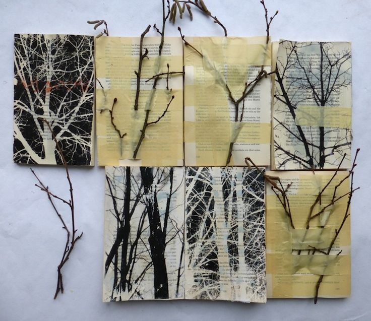 Altered books by Ines Seidel