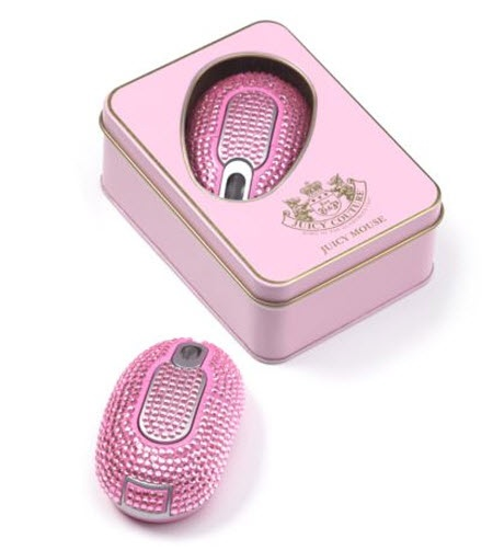 Juicy Couture Blinged Out Wireless Mouse