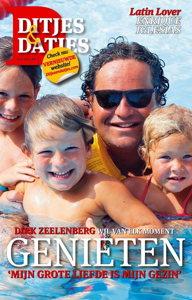 Cover Ditjes & Datjes 7, 2015 met Dirk Zeelendberg. #DitjesDatjes