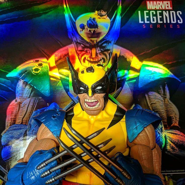 "Snikt!  Latest @dorksidetoys purchase one damn fine toy bub! Tiger stripe Wolverine. Packed like it was glass! Loving the 12"" Marvel Legends line. Would love to see a War Machine lady Deadpool & Venom.  #marvellegends #marvel #twelveinch #hasbro #hasbrotoypic #tigerstripe #toystagram #toys #collectibles #toycrew #FLYGUY #FLYGUYtoys #Googleplus"