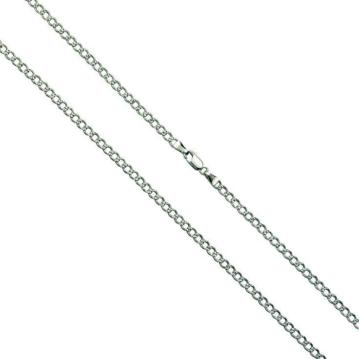 Firetti Collier »925-/ Sterling Silber rhod. Panzerkette« Jetzt bestellen unter: https://mode.ladendirekt.de/damen/schmuck/halsketten/silberketten/?uid=d98dc19d-9e25-581d-8f36-b2e043b825e1&utm_source=pinterest&utm_medium=pin&utm_campaign=boards #schmuck #halsschmuck #halsketten #silberketten