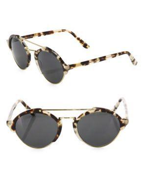 ILLESTEVA Milan II 54MM Oversized Aviator Sunglasses. #illesteva #sunglasses