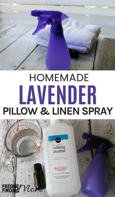 Need help sleeping better? Maybe you just want to freshen your pillows, blankets, etc. This tutorial for how to make linen spray can help you do both. This homemade lavender linen spray recipe is an easy and inexpensive way to naturally deodorize and effectively neutralize even the toughest odors in your home plus it makes great DIY gifts.