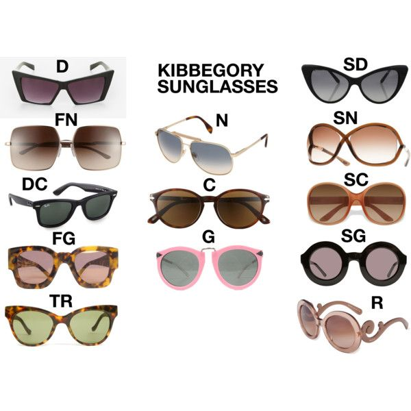 """Kibbe Sunglasses"" by thewildpapillon on Polyvore"