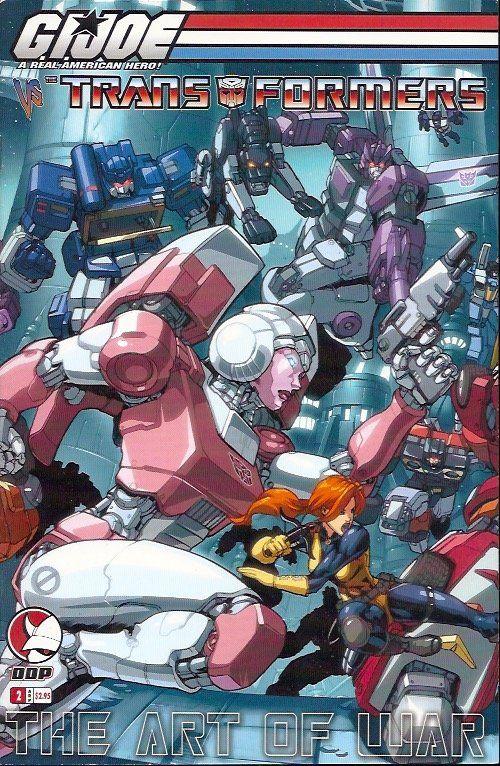 GI Joe vs. Transformers Art of War (2006 3rd Series) 2A    Transformers, GI Joe vs. Transformers Art of War www.detoyboys.nl