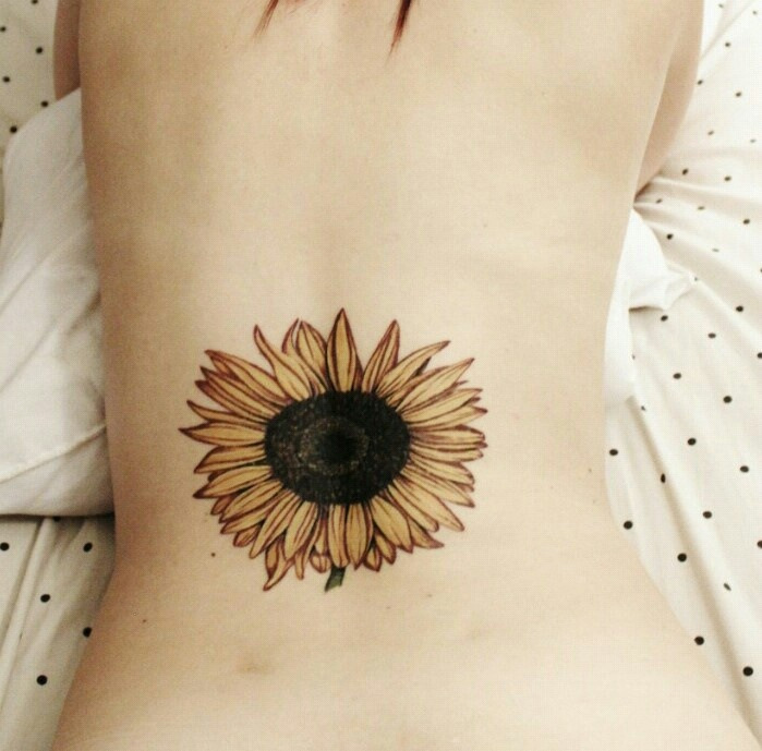 Sunflower tattoo! | Tatoos | Pinterest | Sunflowers ...
