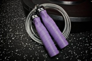 Rx Jump Rope in Purple Reign - custom built, choose cable type, color, and length