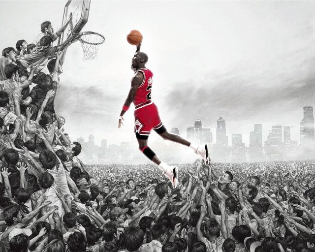Michael Jordan Wallpaper HD Slamdunk
