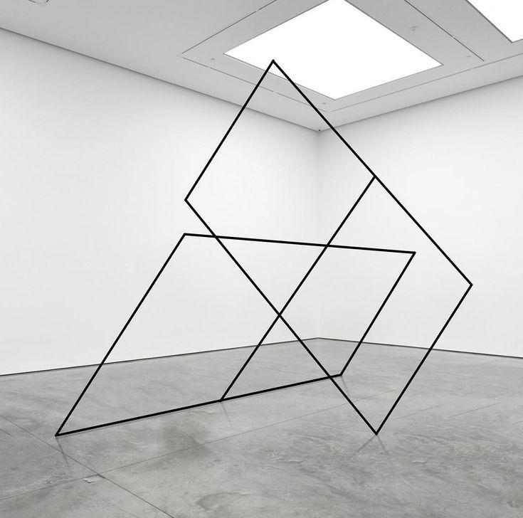 "Mikael Christian Strøbek (@mikaelchristianstrobek) on Instagram: """"Two Rectangular Frames"". 2018.  #conceptualart #artinstallation #artist  #installationart…"""