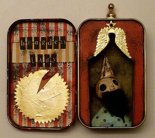 Wicked Circus Altered Tin Gallery - ORGANIZED CRAFT SWAPS