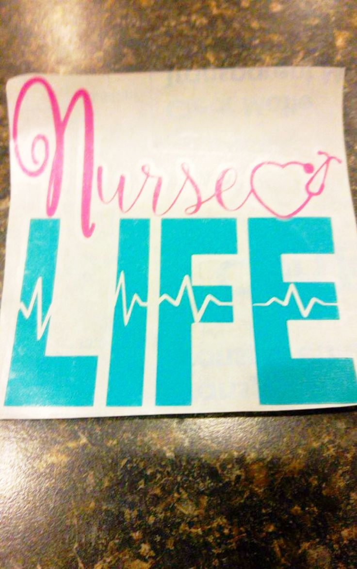 Nurse inspired vinyls that you can put almost anywhere! Laptop, waterbottle and…