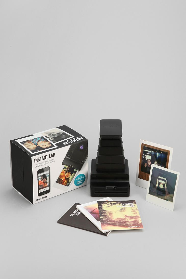 Instant Lab Photo Printer By Impossible Project $299 No reason I would ever need this, but it's really cool.