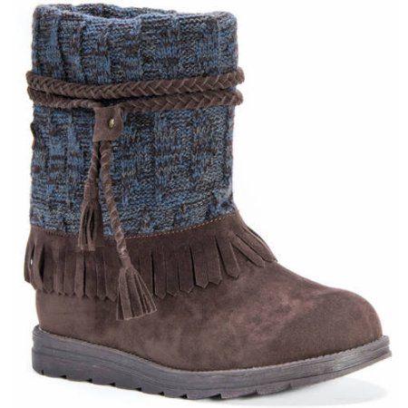MUK Luks Women's Rihanna Boots, Size: 10, Brown