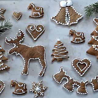 Wy i FINUU! Autorka: @PodNiebienie #finuu #finuupl #finland #gingerbread #pierniki #pierniczki #ciastko #bozenarodzenie #xmas #inspiracje #blogkulinarny