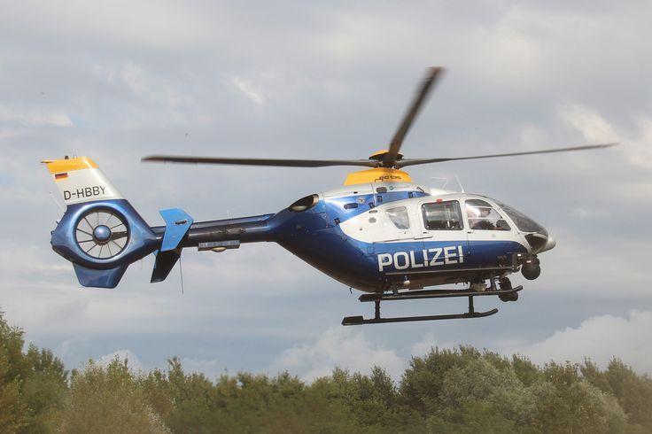 """Eurocopter EC135 P2 - Polizei Brandenburg """"D-HBBY"""""""