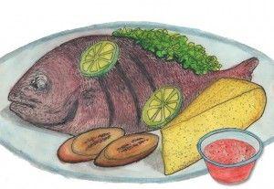 De red snapper of Piska Korá (letterlijk vertaald 'rode vis') is één van de meest gegeten vissoorten op de Antillen. Tegenwoordig ook goed in Nederland verkrijgbaar, bijvoorbeeld bij Surinaamse toko's (in de vriezer) of bij grote, Chinese toko's (rauw – soms zelfs nog levend!) Dit recept is voor de simpele, maar heerlijke gebakken red snapper …