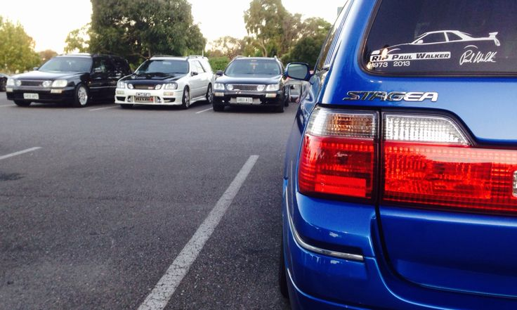 NISSAN STAGEA WGNC34 The Stag's at YSA Meet/Cruise (BSMC)