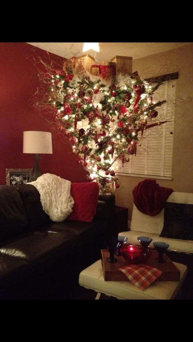 Images about upsidedown christmas tree on pinterest