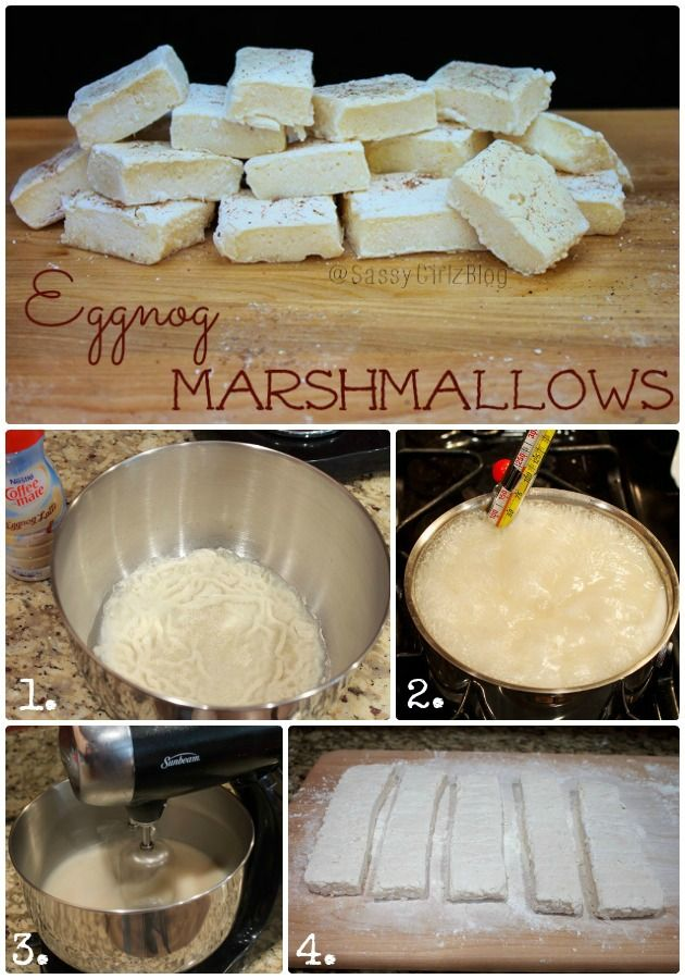 1000+ images about Homemade Marshmallows on Pinterest | Marshmallows ...