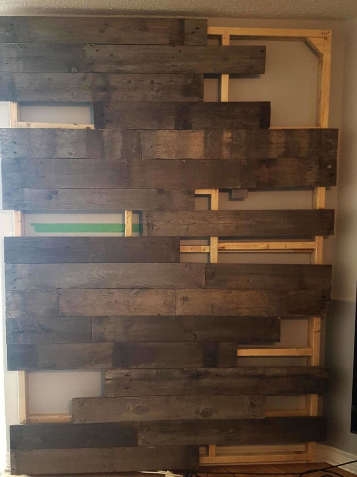 17 best images about studio yay on pinterest trendy for Using reclaimed wood on walls
