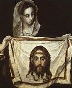 "New artwork for sale! - "" St Veronica With The Holy Shroud by El Greco "" - http://ift.tt/2zHpAAw"