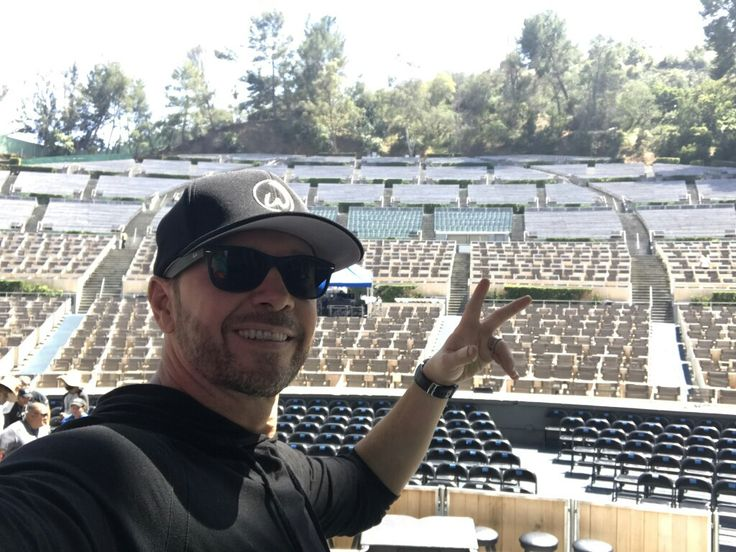 Hollywood Bowl Donnie Wahlberg