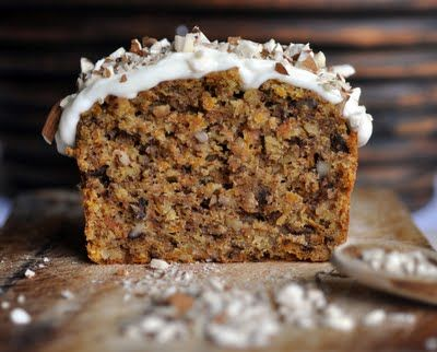 Carrot Oat Spelt Cake with Homemade Cream Cheese Frosting