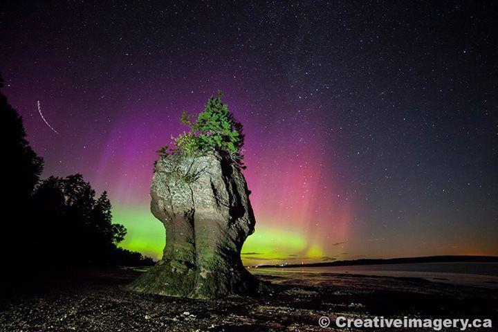 Rochers Hopewell Rocks | Magnifique photographie naturelle du Nouveau-Brunswick, Canada | Photo : Kevin Snair / Facebook