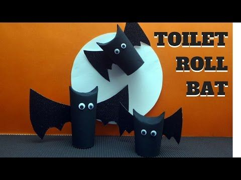 15 awesome toilet paper roll crafts for kids easy kids craft - Youtube Halloween Crafts