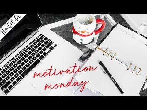 Plan & Organize Your Week | Motivation Monday - Vlogmas Day 3 - YouTube