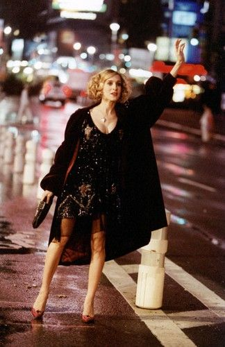 I feel like this whenever I flag a cab going somewhere as a socialite in heels. #lovemyjob