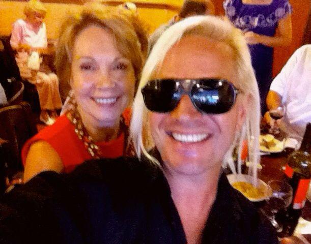 Daniel DiCriscio and Julie Nixon Eisenhower