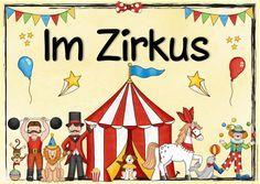 """Themenplakat """"Im Zirkus"""" Heute gibt es ein neues Themenplakat. Dieses greift das Thema """"Zirkus"""" auf. Hier könnt ihr euch das Plakat heru..."""