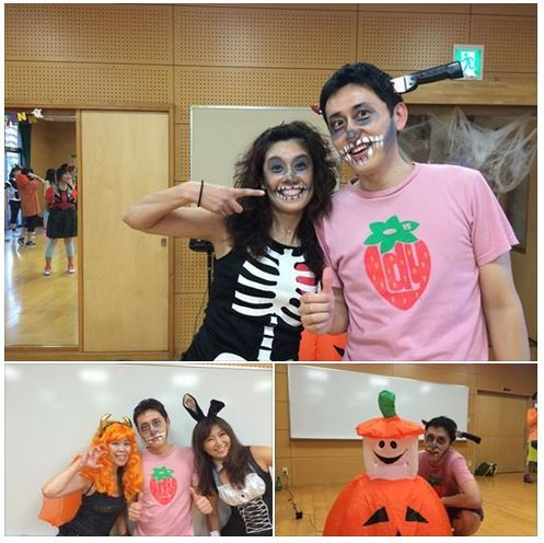 10-18-14. Kego Fukuoka. ZES Instructor Yukie Toyofuku with Akihiko  sc 1 st  Pinterest & The 52 best Zumba® 2014 Zum-Boo!-licious Halloween Jam images on ...
