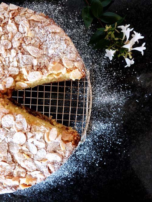 Torta de limon, ricota y almendras #sintacc #glutenfree