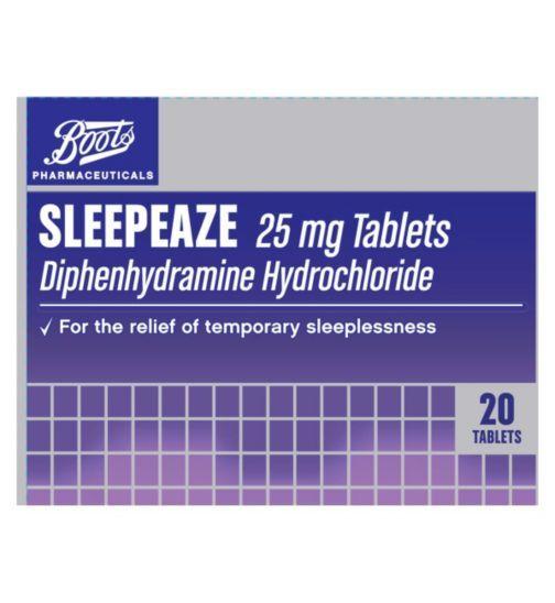 Boots Sleepeaze Tablets - 25 mg