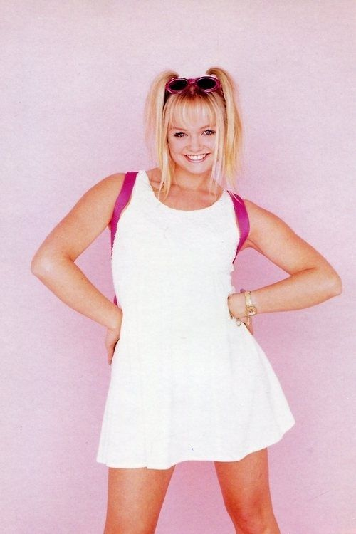 Baby Spice is MY GURL though!!  // Pre-Pubescent Pig Tails | The 19 Most Important Womens Hairstyles Of The '90s // #spicegirlsgirlpower