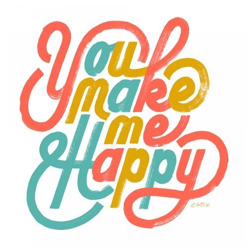 Erik Marinovich // Friends Of Type - You Make Me Happy