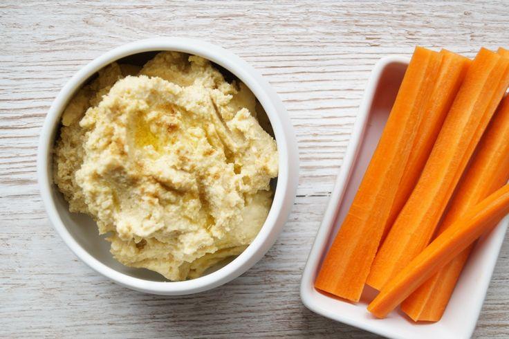 Hummus. Nem og god opskrift på hummus.