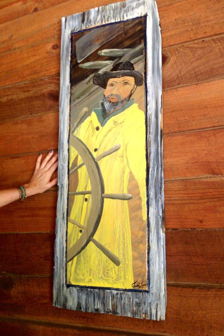 29 best Ocean Arts Original Painting on Reclaimed Wood images on ...
