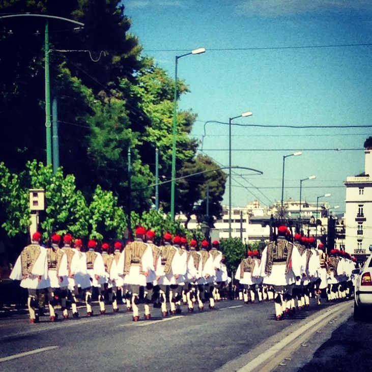Change of the Presidential Guard- every Sunday @ 11:00