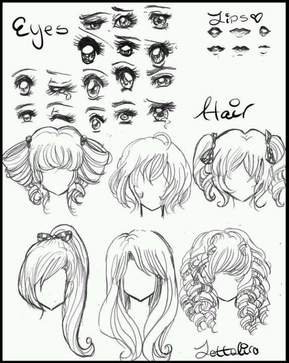 Strange 17 Best Images About Scarletts Drawing Tutorial On Pinterest Short Hairstyles Gunalazisus