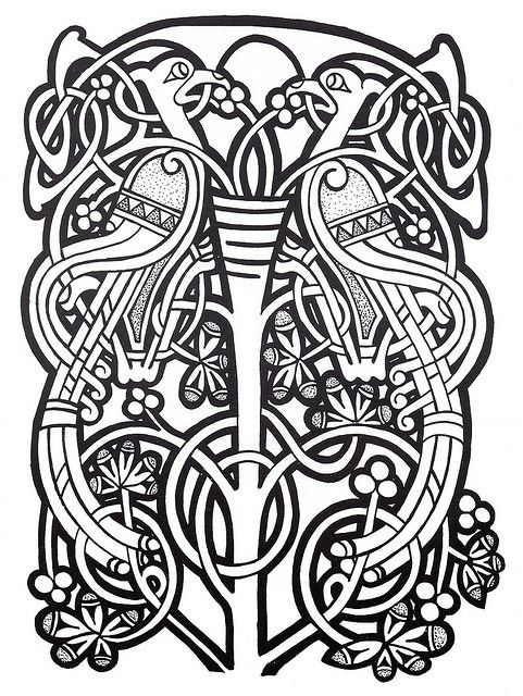 9 best CELTIC DESIGNS images on Pinterest Celtic art, Celtic - best of printable coloring pages celtic designs