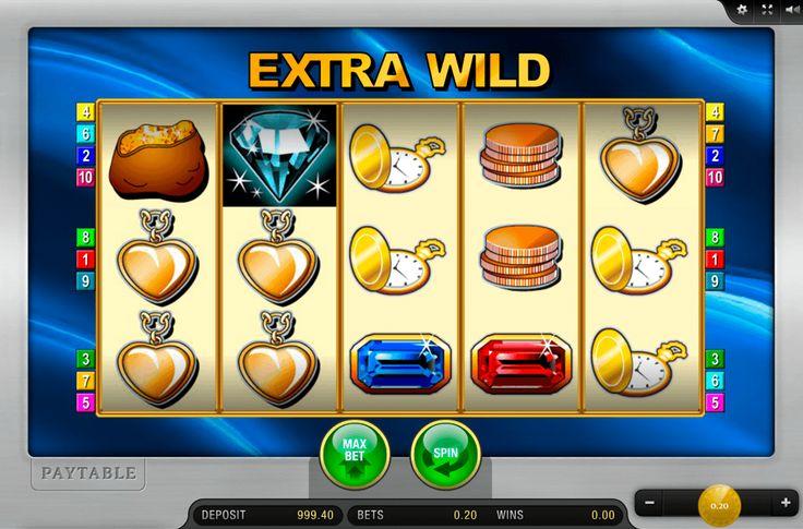 """Stelle dir vor, welche riesige Schätzen in den Banks versteckt sind. Mit dem #Spielautomat """"Extra Wild"""" von #MerkurGaming kannst du das richtig erleben. Volle Säcke mit Gold, goldene Uhren, glänzende Münzen und Rubine dienen zu einfachen Symbole. Natürlich, gibt es hier auch Wild und Scatter und zwei Risiko-Spiele. Mobile Version ist auch verfügbar. Kostenlos oder für Echtgeld – wähle dein eigenen Weg zum Spielen """"Extra Wild"""" mit dem Online Casino Hex."""