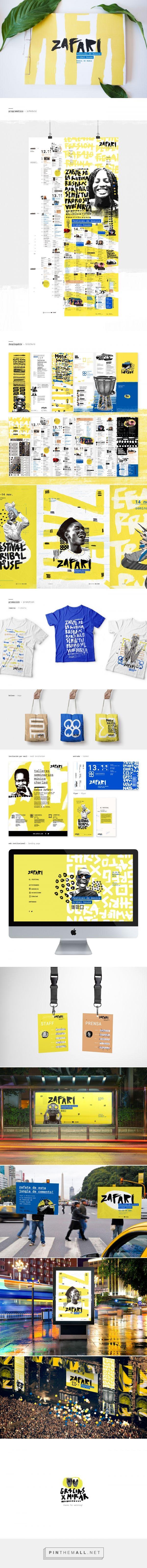 Zafari Festival Branding by Jennifer Reid   Fivestar Branding Agency – Design and Branding Agency & Curated Inspiration Gallery