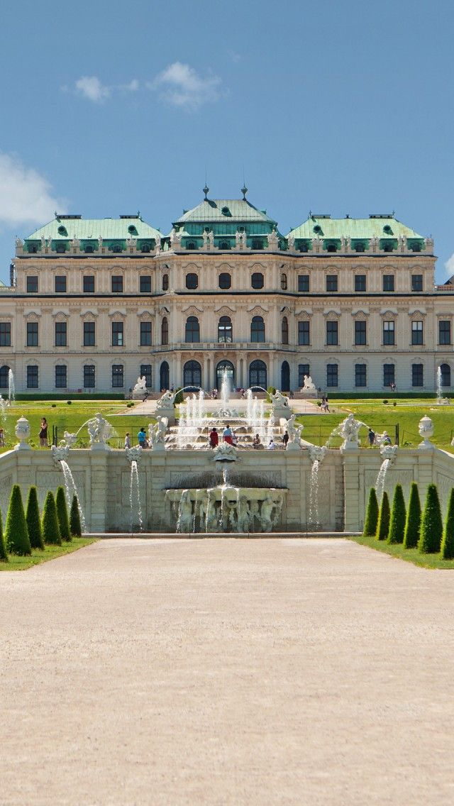 """Belvedere Palace- 12 euro (for just the Upper Belvedere), includes Klimt's """"The Kiss"""" but is disappointing otherwise.  It is a bit of a ways from the main sights and the gardens are not near as nice as those of Schónbrunn."""