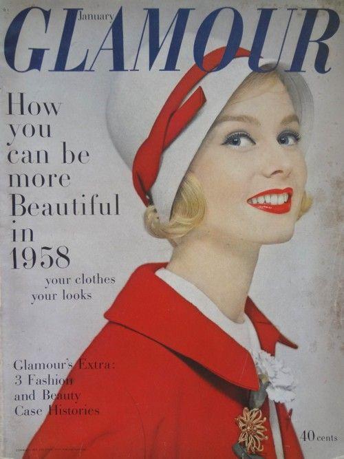Glamour, January 1958 | The Vintage Traveler  http://thevintagetraveler.wordpress.com/2013/03/02/glamour-january-1958/