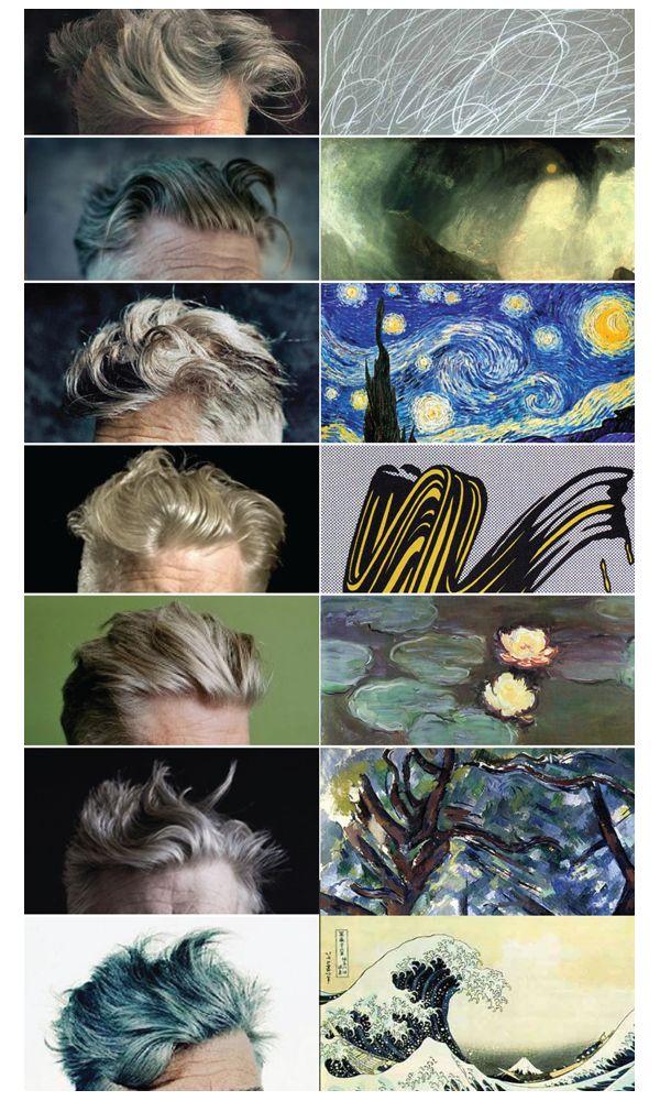 I capelli di David Lynch http://ow.ly/JCLQA