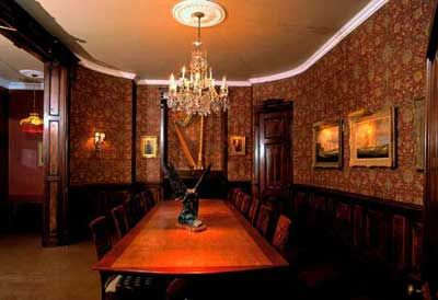 The English Room at the Rossignol Museum, Liverpool Nova Scotia