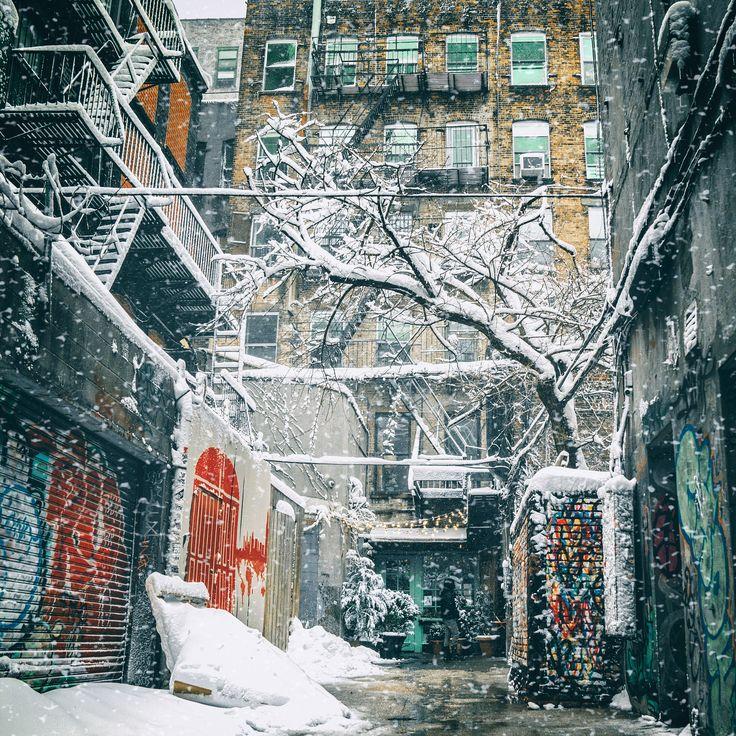 https://flic.kr/p/RZfDUR   New York City Winter Storm Niko Snow 2017   Today. In Winterstorm Niko on the Lower East Side, New York City.   Blizzard 2017. NYC